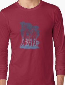 Evil woods At Night Long Sleeve T-Shirt