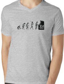 Arcade Evolution Mens V-Neck T-Shirt