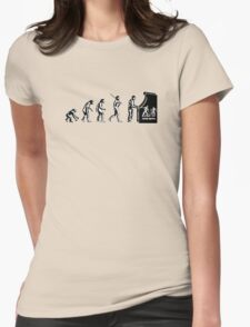 Arcade Evolution Womens Fitted T-Shirt