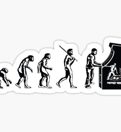 Arcade Evolution Sticker