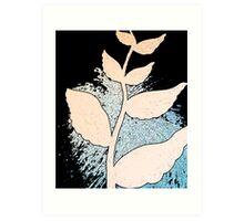 Wing Leaves Art Print