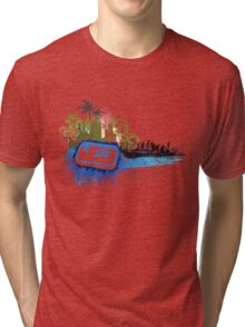 Arcade City - Gamer Video Games Tri-blend T-Shirt