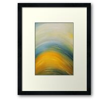 Sunset Rays Framed Print