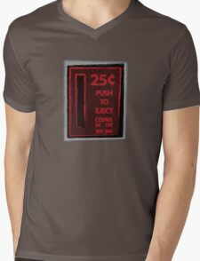 Push To Eject Mens V-Neck T-Shirt