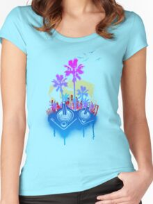 Arcade Paradise Women's Fitted Scoop T-Shirt