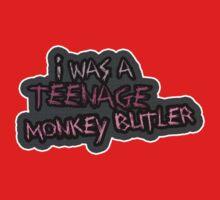 I was a teenage Monkey Butler by SixPixeldesign