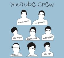 Youtube Crew by emmazeballs