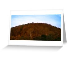 Hilly Dorset Greeting Card