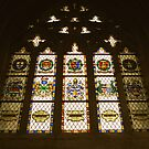 Exeter Cathedral window by Shiva77
