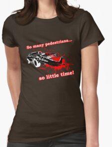 Car-mageddon Womens Fitted T-Shirt