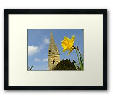 Llandaffodil  Framed Print