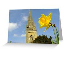 Llandaffodil  Greeting Card