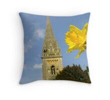 Llandaffodil  Throw Pillow