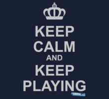Keep Calm And Keep Playing Kids Clothes
