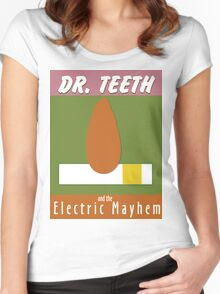 Dr. Teeth & the Electric Mayhem Women's Fitted Scoop T-Shirt