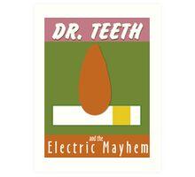 Dr. Teeth & the Electric Mayhem Art Print
