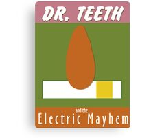 Dr. Teeth & the Electric Mayhem Canvas Print