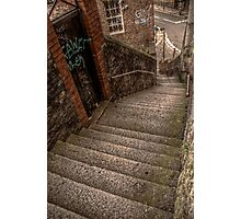 Side Steps Photographic Print