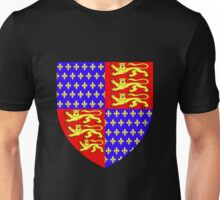 England's Coat of Arms circa 1340 Unisex T-Shirt