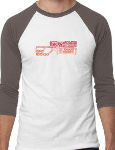BFG Cheat Gun Men's Baseball ¾ T-Shirt