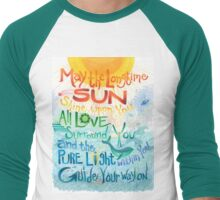 Long Time Sun Men's Baseball ¾ T-Shirt