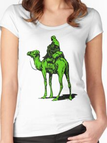 The Silk Road camel Women's Fitted Scoop T-Shirt
