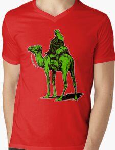The Silk Road camel Mens V-Neck T-Shirt