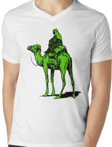 The Silk Road camel Mens V-Neck T-Shirt