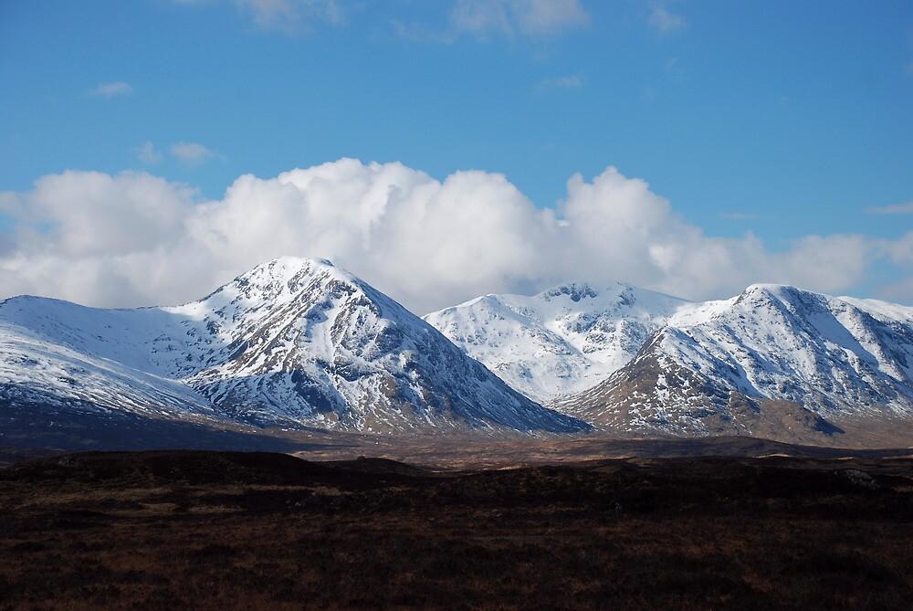 Scottish mountain Glencoe by margaret1087