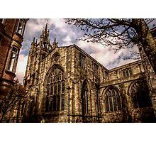 Cathedral Church Of Saint Nicholas Photographic Print