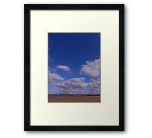 Fabulous Sky Framed Print