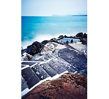 Hawk Cliff, Dalkey, Ireland Photographic Print