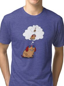 Moog self thought Tri-blend T-Shirt