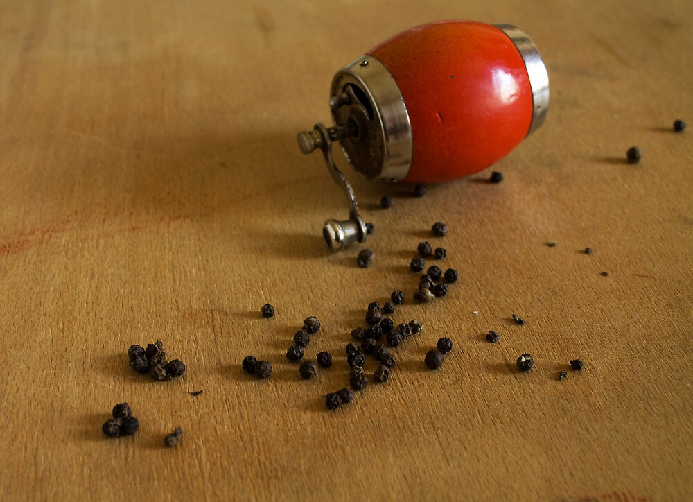 black pepper by slavikostadinov