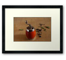 meal Framed Print