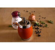 meal pepper Photographic Print