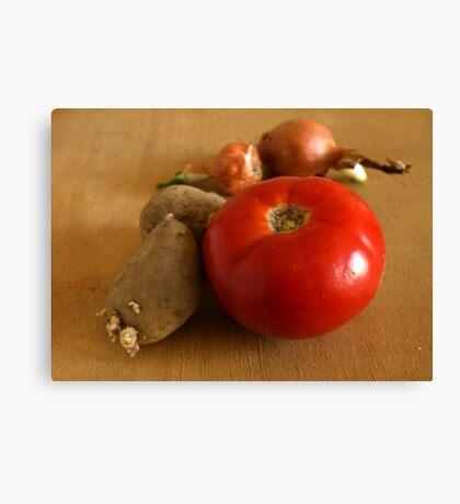 vegetables Canvas Print