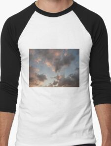 The Cloudy Sunset Men's Baseball ¾ T-Shirt