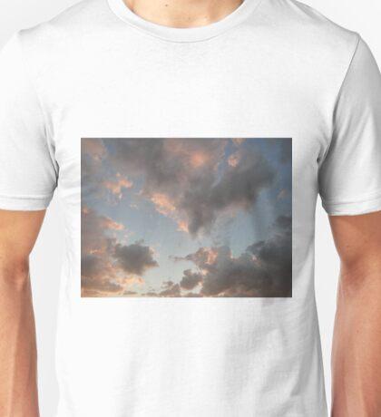 The Cloudy Sunset Unisex T-Shirt