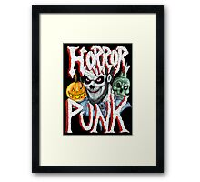Horror Punk Framed Print