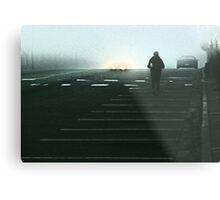 In the early morning rain  Metal Print