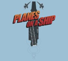 Planes on a Ship by middletone