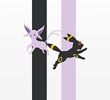 Espeon - Umbreon by lomm
