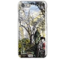 Montmartre 10 in colour iPhone Case/Skin