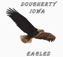 Dougherty Iowa Eagles Baby Tee