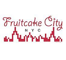 Fruitcake City Photographic Print