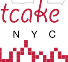 Fruitcake City Sticker