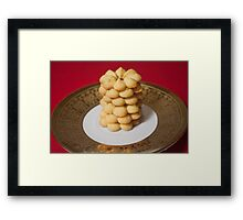 Viennese Biscuits I Framed Print