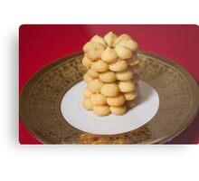 Viennese Biscuits I Metal Print