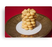 Viennese Biscuits I Canvas Print